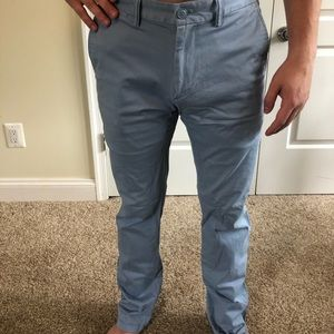 Old Navy 32x34 Blue Chino Pants